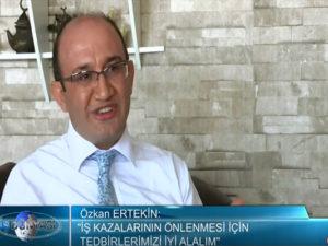Av. Özkan Ertekin: Atv Avrupa İş Dünyası Programı